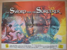 Sword and the Sorcerer (1982) Film Poster - UK Quad Poster